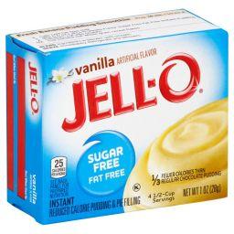 Jello Pudding Sugar Free Vanilla 1oz (28g)