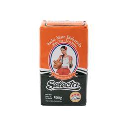 Selecta Yerba Mate Elaborada - Molienda Granulada 17.6oz (500g)