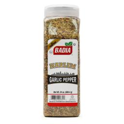 Badia Harlem Garlic Pepper 24oz (680.4g)