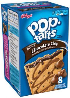 Kellogg's Pop-Tarts Chocolate Chip 13.5oz (384g)