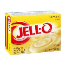 Jello Instant Pudding Lemon 96gr