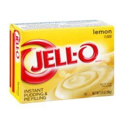 Jello Instant Pudding Lemon 3.4oz (96g)