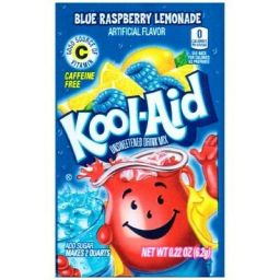 Kool-Aid Blue Raspberry Lemonade Zakje 3.9gr