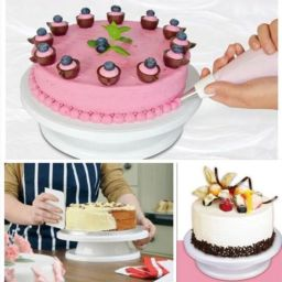 Taart stand/ Cake turntable 27cm