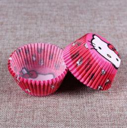 Cupcake Paper Cup Kitty - 100 stuks