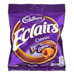 Cadbury Chocolate Eclairs 130gr