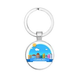 Curacao sleutelhanger