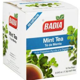 Badia Mint Tea 0.045oz (1.3g) - 10stuks