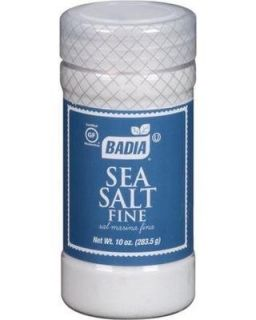 Badia Sea Salt Fine 10oz
