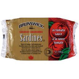 Brunswick Sardines in Tomato Sauce 106gr