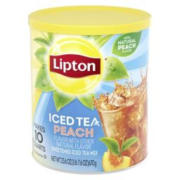 Lipton Iced Tea Mix - Sweet Peach 670gr