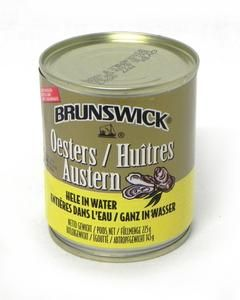 Brunswick Boiled Oysters Natural 225gr