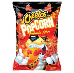 Cheetos Popcorn Flamin Hot 6.5oz (184.2g)