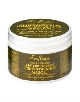 Shea Moisture Yucca & Plantain Anti-Breakage Strengthening Masque 12oz