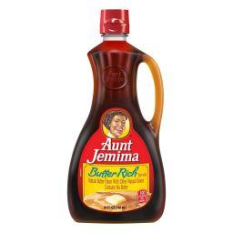 Aunt Jemima Butter Rich Syrup 24oz (710ml)