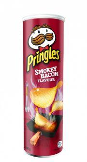 Pringles Smokey Bacon 158gr