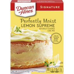 Duncan Hines Perfectly Moist Lemon Supreme Cake Mix15.25oz (432g)