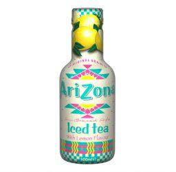 Arizona Sun Brewed Style Iced Tea with Lemon Flavour 16.8oz (500ml)