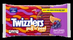 Hersheys Twizzlers Fruit Punch Pull-N-Peel 12oz (340g)