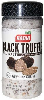 Badia Black Truffle Sea Salt 9oz (255.1g)