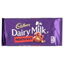 Cadbury Dairy Milk Fruit & Nut 200gr