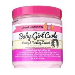 Aunt Jackie's Girls Baby Girl Curls Curling & Twisting Custard 15oz