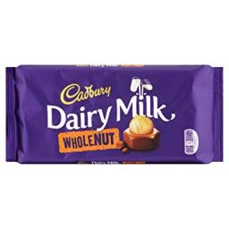 Cadbury Dairy Milk Wholenut 200gr