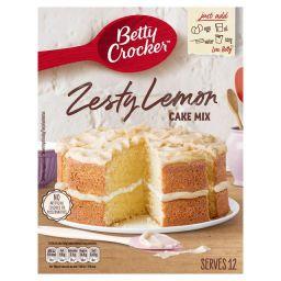 Betty Crocker Zesty Lemon Cake Mix 15oz (425g)