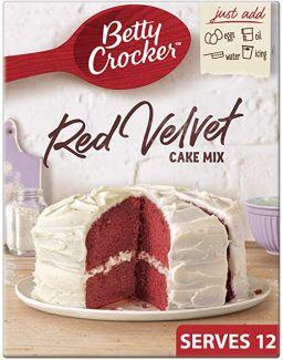 Betty Crocker Red Velvet Cake Mix 15oz (425g)