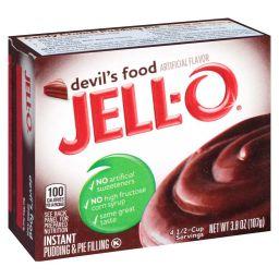 Jello Instant Pudding Devil's Food 107gr