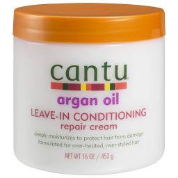 Cantu Argan Oil Leave-in Conditioning Repair Cream 16oz (453g)