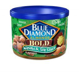Blue Diamond Wasabi & Soy Sauce Almonds 6oz