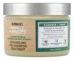 Dr. Miracles Detangling Pre-Shampoo Treatment 12oz (340g)