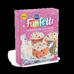 Pillsbury Funfetti Unicorn Strawberry Cake Mix 15.25oz (432g)