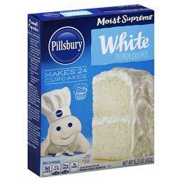 Pillsbury White Cake Mix 432gr