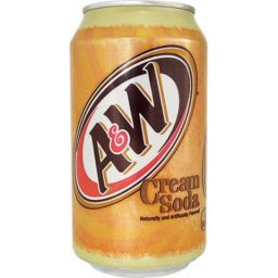 A&W Cream Soda 12oz (355ml)