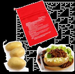 Aardappel Stoofzak voor magnetron