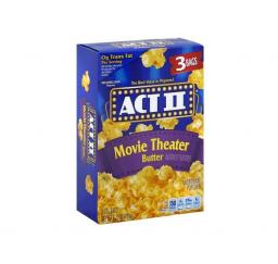 ACT II Popcorn Movie Theater Butter 3 stuks