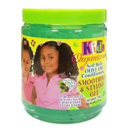 Africa's Best Kids Organics Olive Oil Smoothing & Styling Gel 15oz (426g)