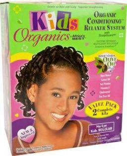 Africa's Best Kids Organics Relaxer Kit Regular Value Pack
