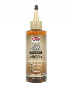 African Pride Black Castor Mircale Hair & Scalp Sealing Oil 6oz (177ml)