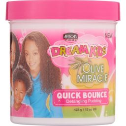 African Pride Dream Kids Olive Miracle Quick Bounce Detangling Pudding 15oz (425g)