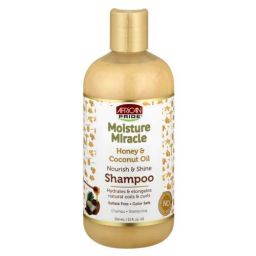 African Pride Moisture Miracle Honey & Coconut Oil Shampoo12oz (354ml)