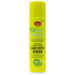 African Pride Olive Miracle Growth Sheen 8oz (226g)