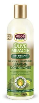 African Pride Olive Miracle Leave-In Conditioner 12oz (355ml)