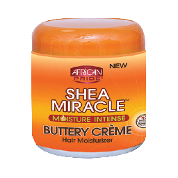 African Pride Shea Miracle Buttery Creme 6oz (170g)