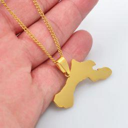 Jewelry Necklace Bonaire Gold Color 60cm
