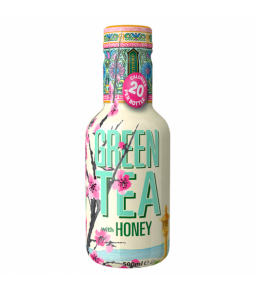 Arizona Green Tea with Honey Low Calorie 16.8oz (500ml)