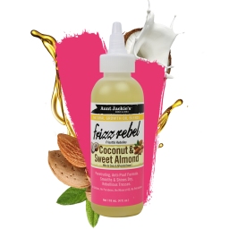 Aunt Jackie's Frezz Rebel Coconut & Sweet Almond Oil 4oz (118ml)
