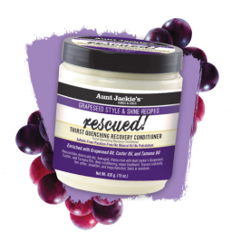 Aunt Jackie's Grapeseed Style Rescued Conditioner 15oz (426g)